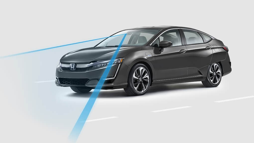 2018 Honda Clarity Road Departure Mitigation