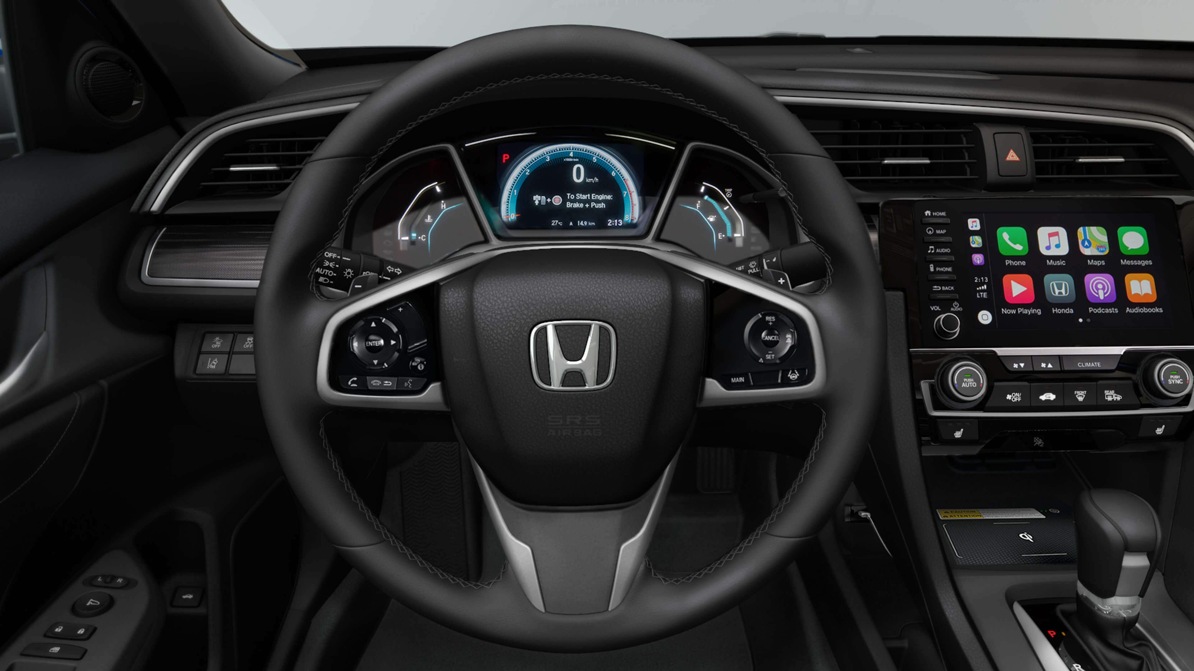 2019 Civic Sedan interior