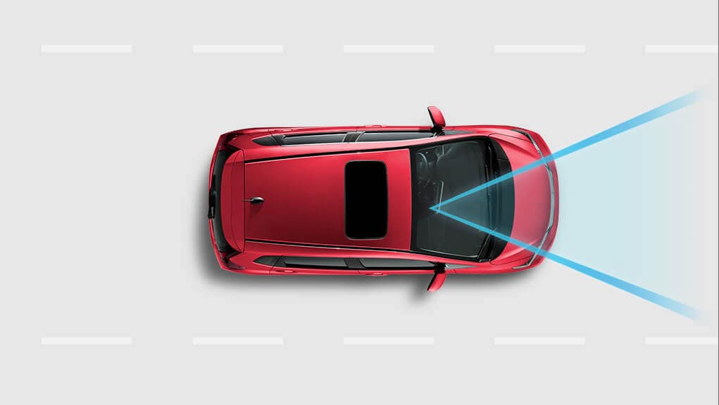 Video of Honda Sensing Lane Keeping Assist
