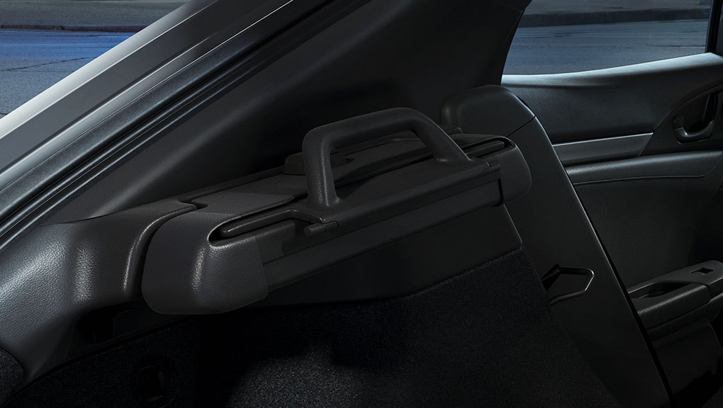 Image of 2017 Civic Hatchback removable cargo cover