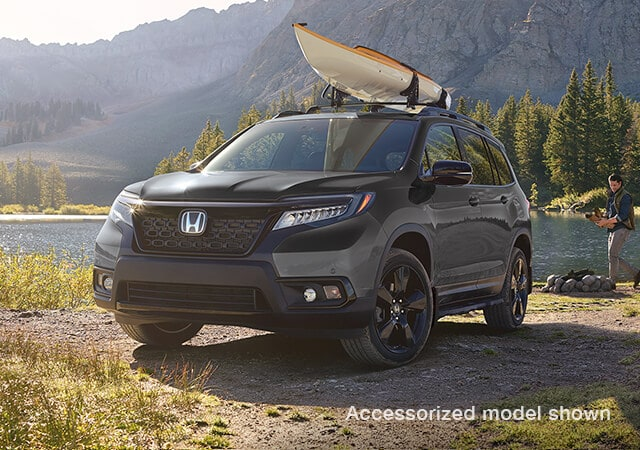 The 2019 Passport Honda Canada