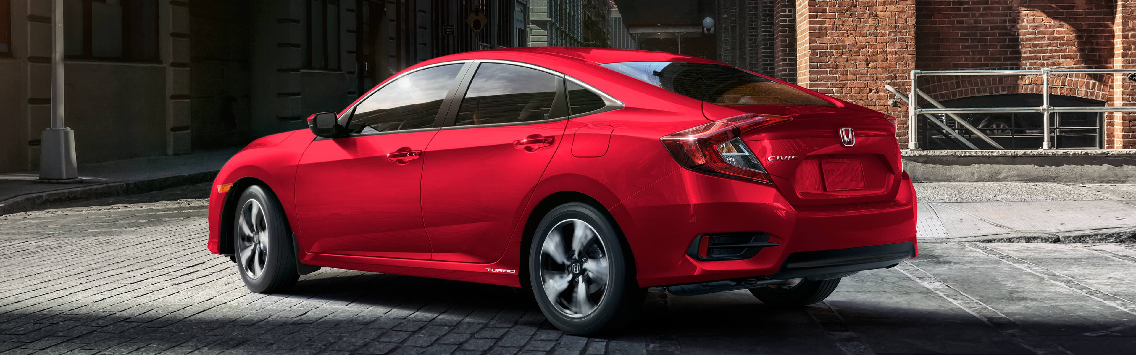 2018 Civic rear exterior