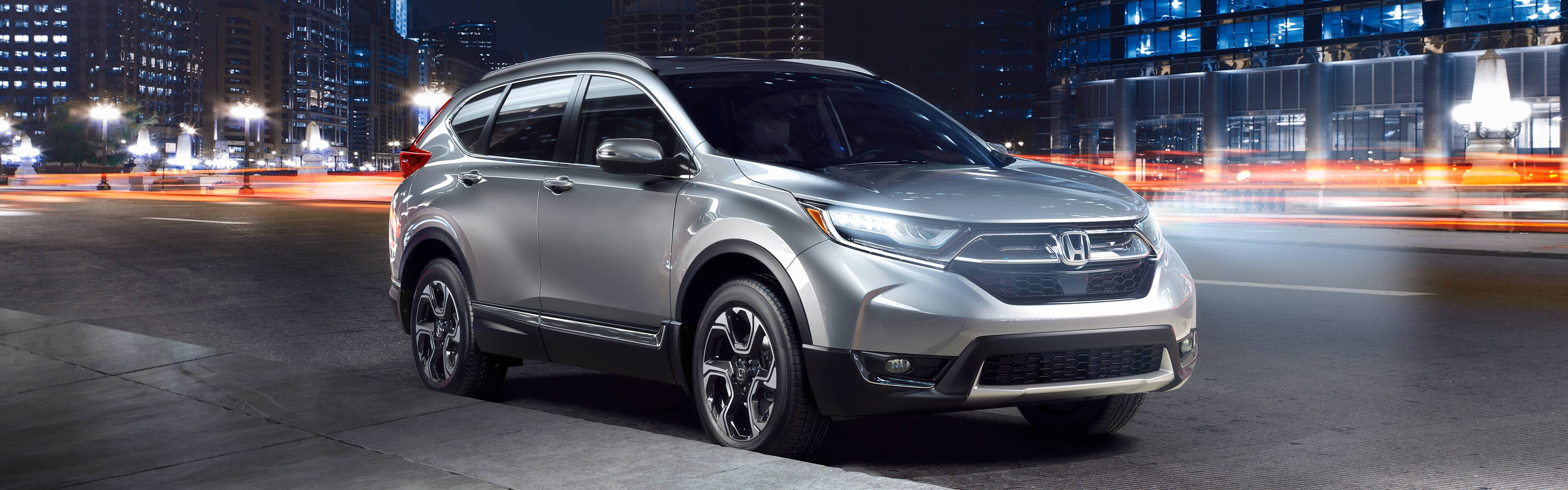 Image Of 2018 CR V On City Street