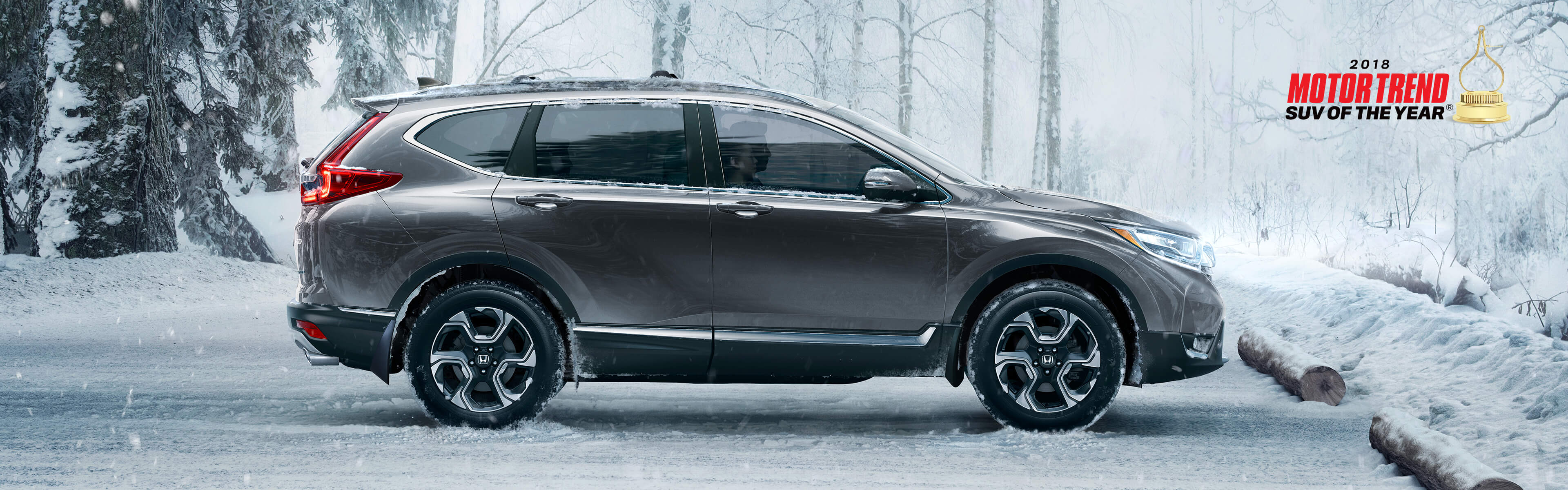 Image of 2018 CR-V parked in Winter conditions