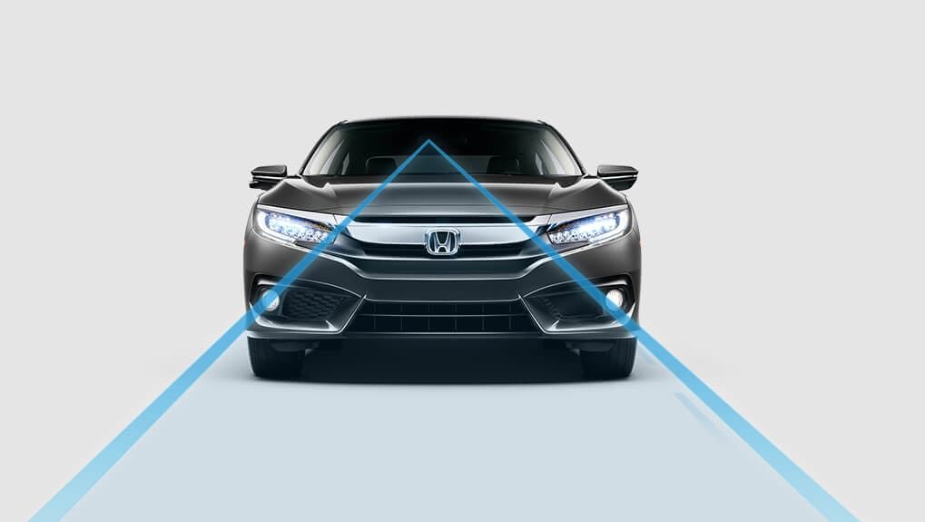 2018 Civic Lane Departure Warning System