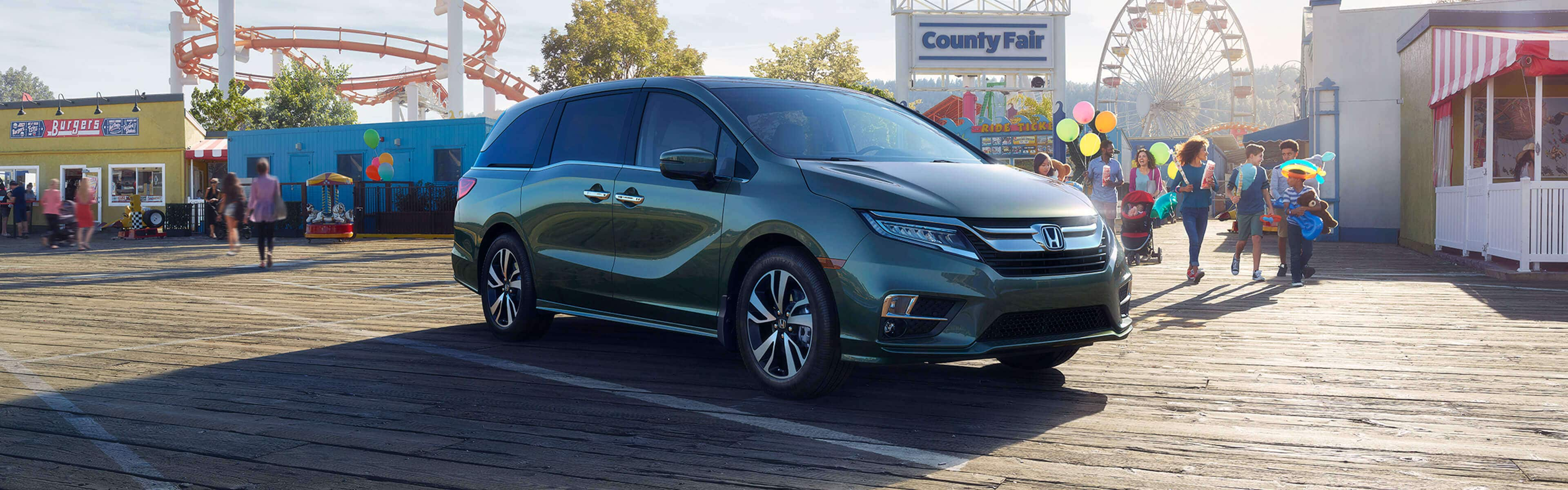 2019 Honda Odyssey 2003 Headlight Wiring Image Of The Forest Mist Metallic At An Amusement Park