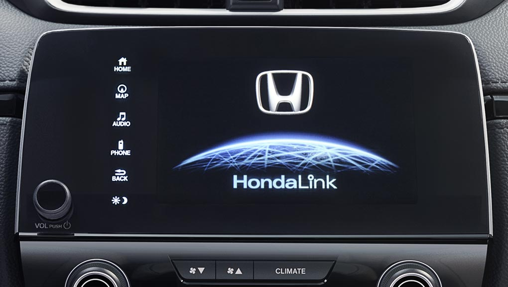 Image of 2018 CR-V HondaLink assist automatic emergency response system
