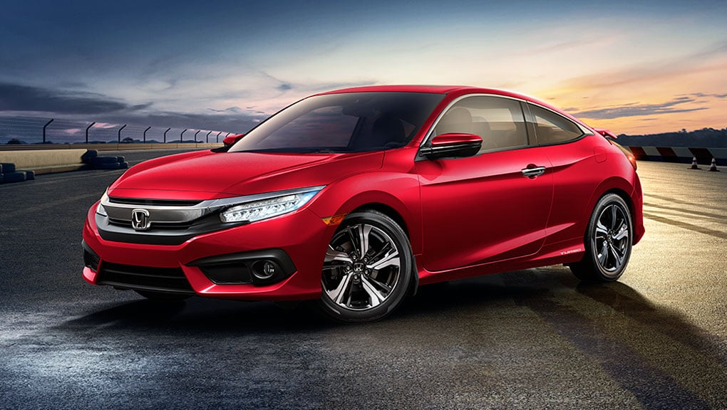Image of 2018 Civic Coupe profile
