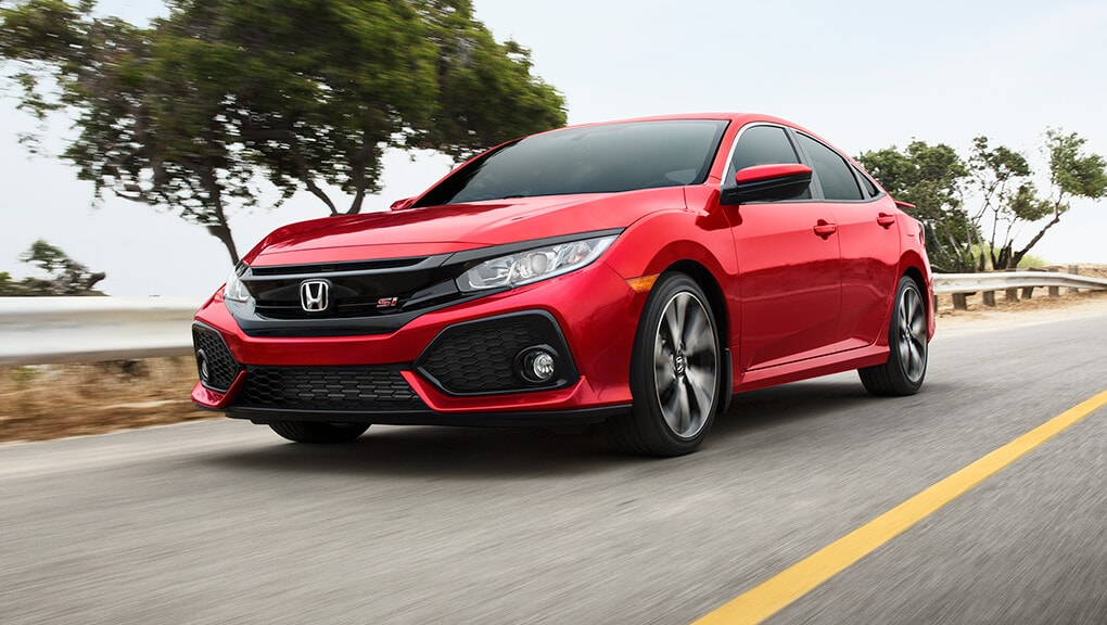 2018 Civic Si front grille.
