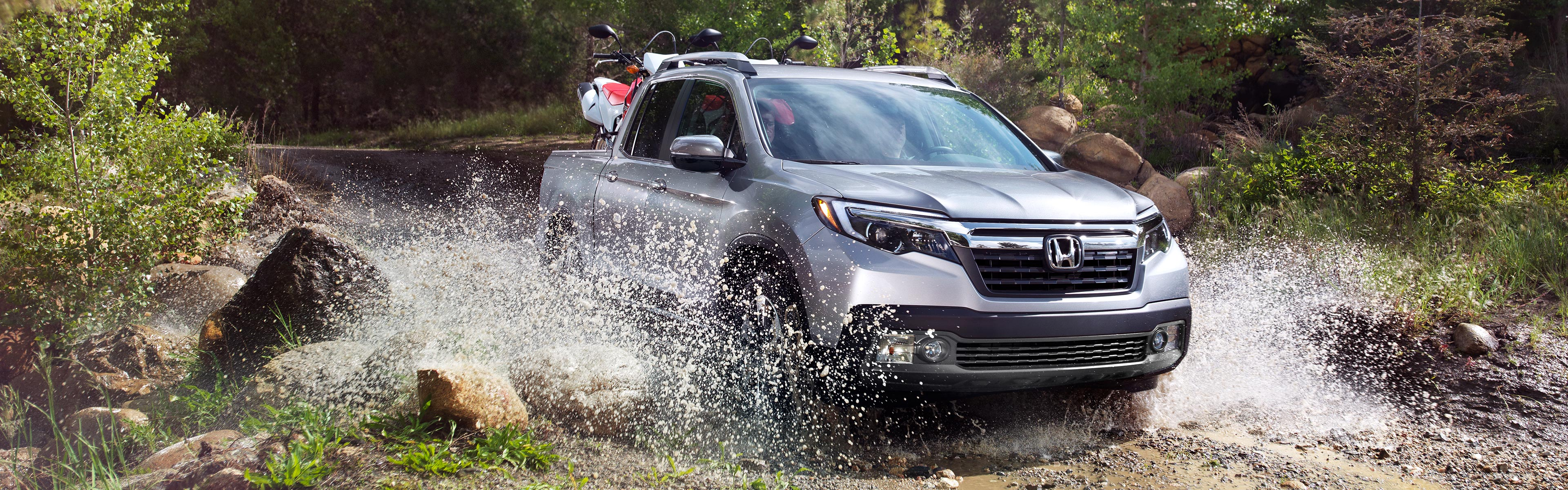 Image of 2017 Ridgeline driving off road
