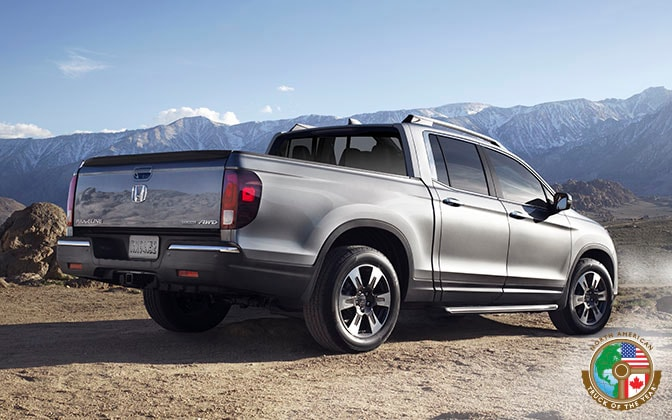 Image of 2017 Ridgeline backend