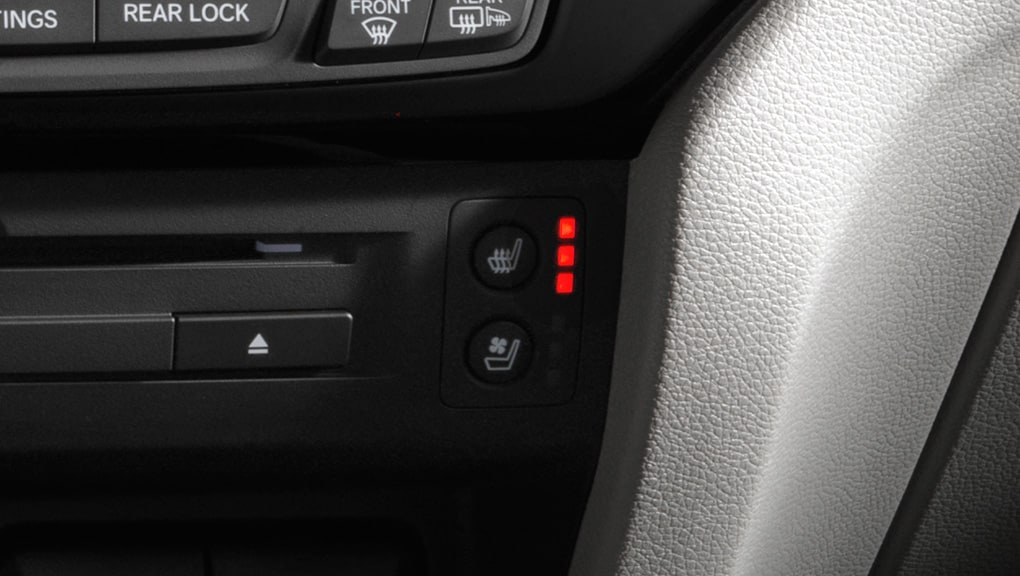 Image of 2017 Honda Pilot's heated seats