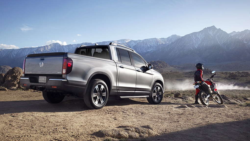 Image of 2018 Ridgeline muddy