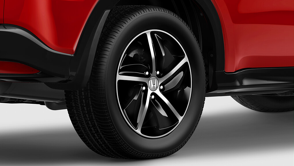 "2019 Honda HR-V, 17"" aluminum-alloy wheels"