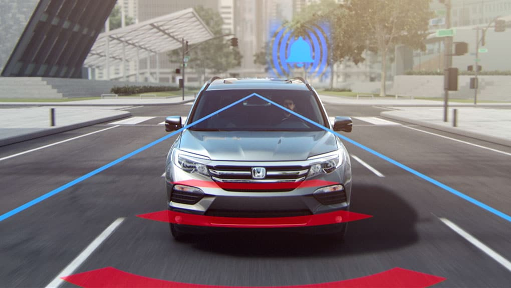 Image of Collision Mitigation Braking System (CMBS)