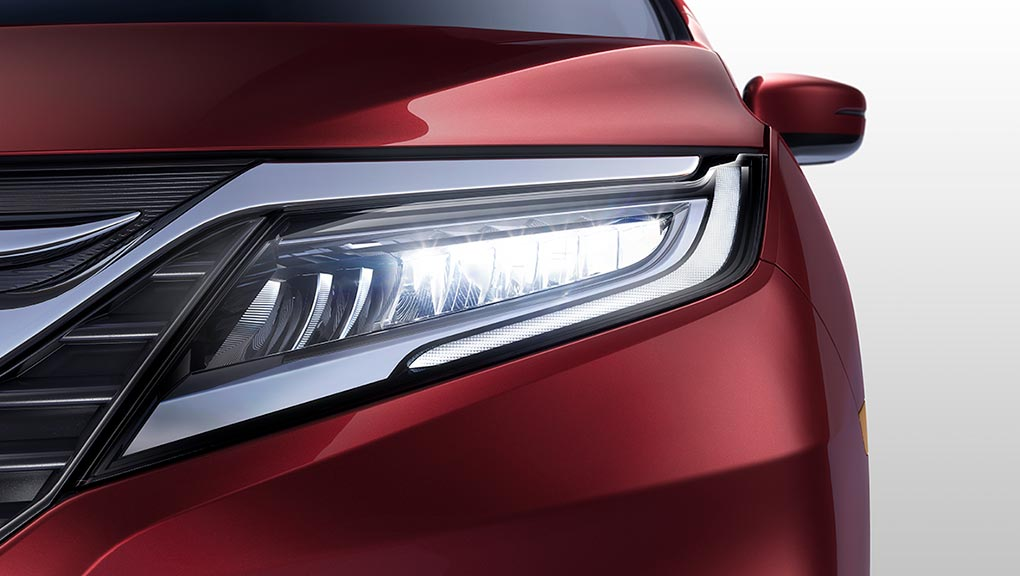 Image of 2018 Honda Odyssey Auto high beam.