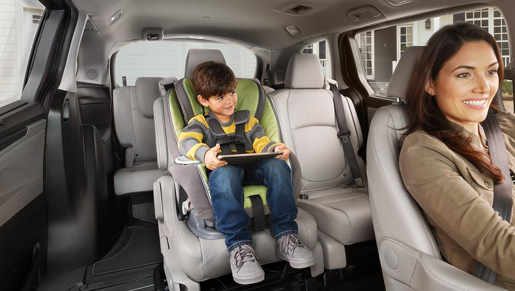 Image of 2018 Honda Odyssey Child safety.