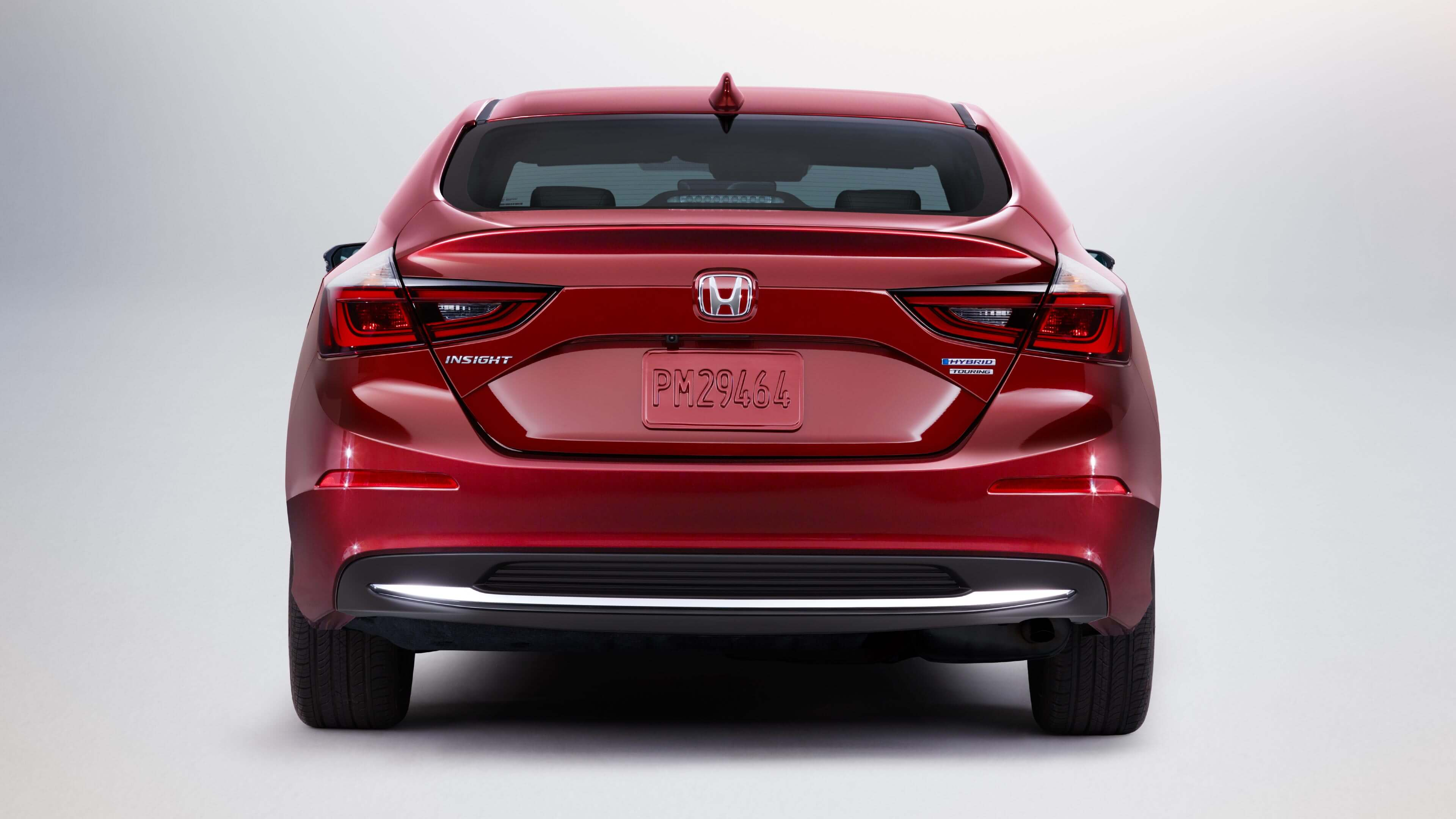 2020 Honda Insight rear profile