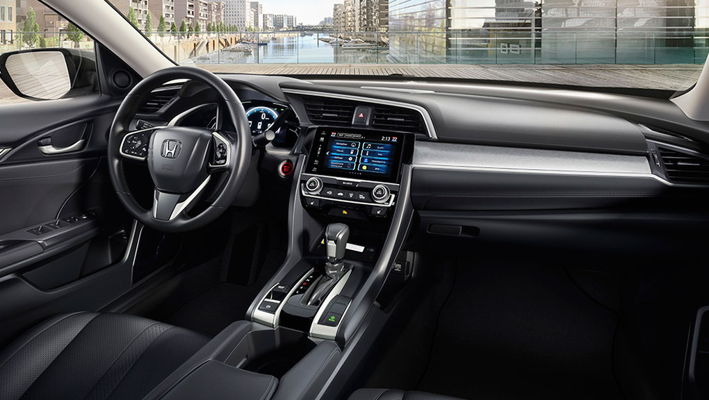 interior the 2016 civic honda canada. Black Bedroom Furniture Sets. Home Design Ideas