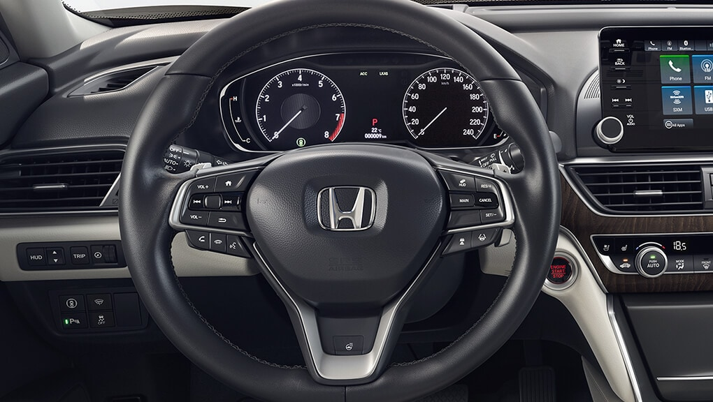 Interior | 2018 Accord Sedan | Honda Canada