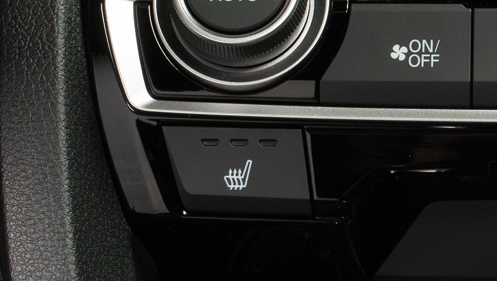 Image of 2017 Civic Coupe heated front seats icon