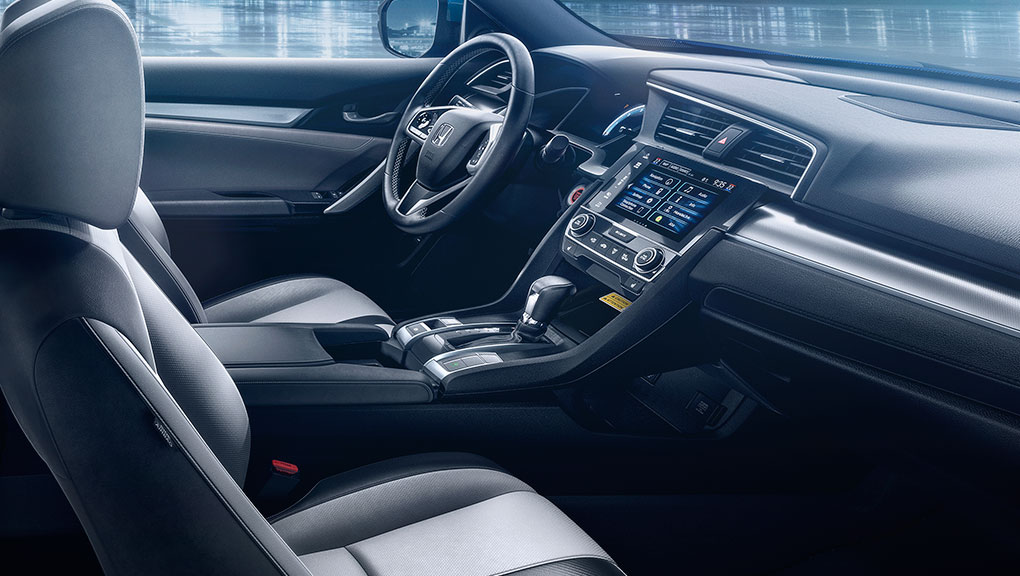 Interior The 2017 Civic Coupe Honda Canada