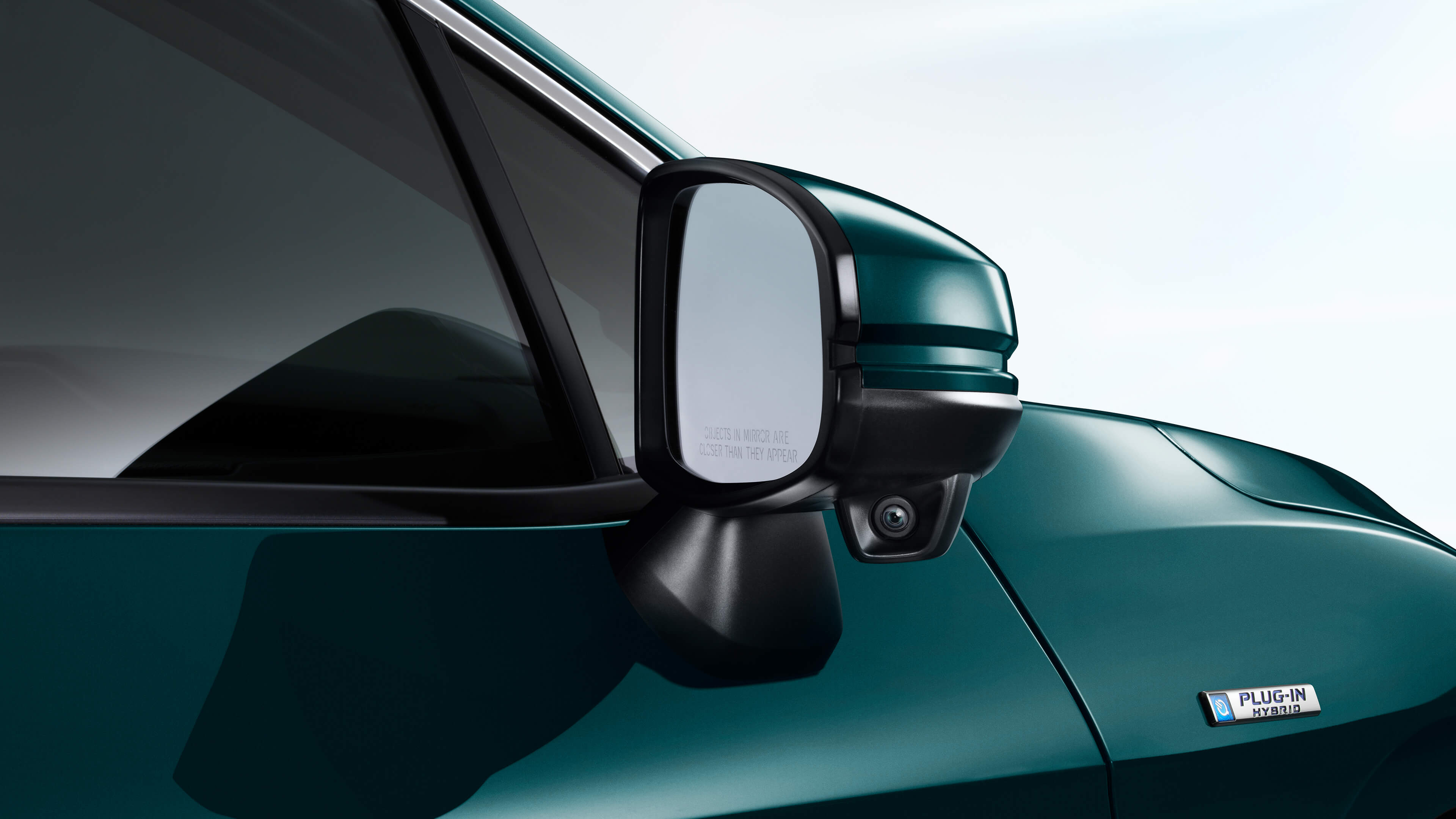 2020 Honda Clarity side mirror