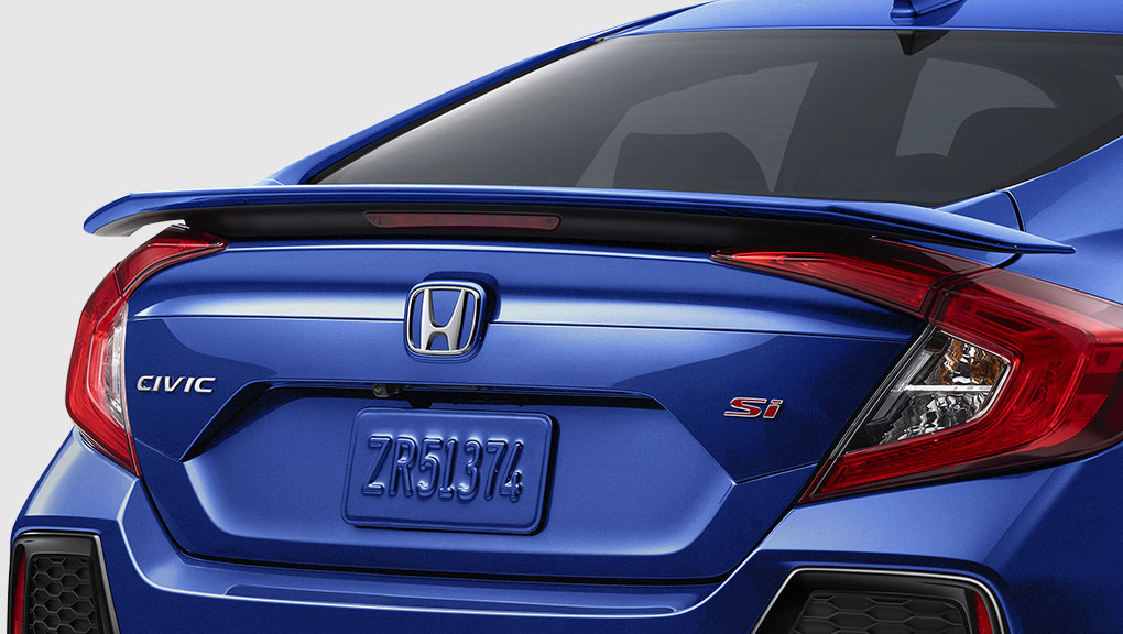 Image of 2017 Civic Vehicle Rear wing spoiler.
