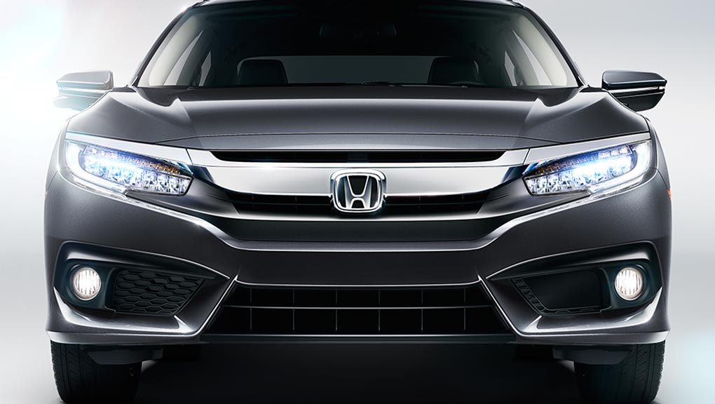 Image of 2017 Civic frontend exterior