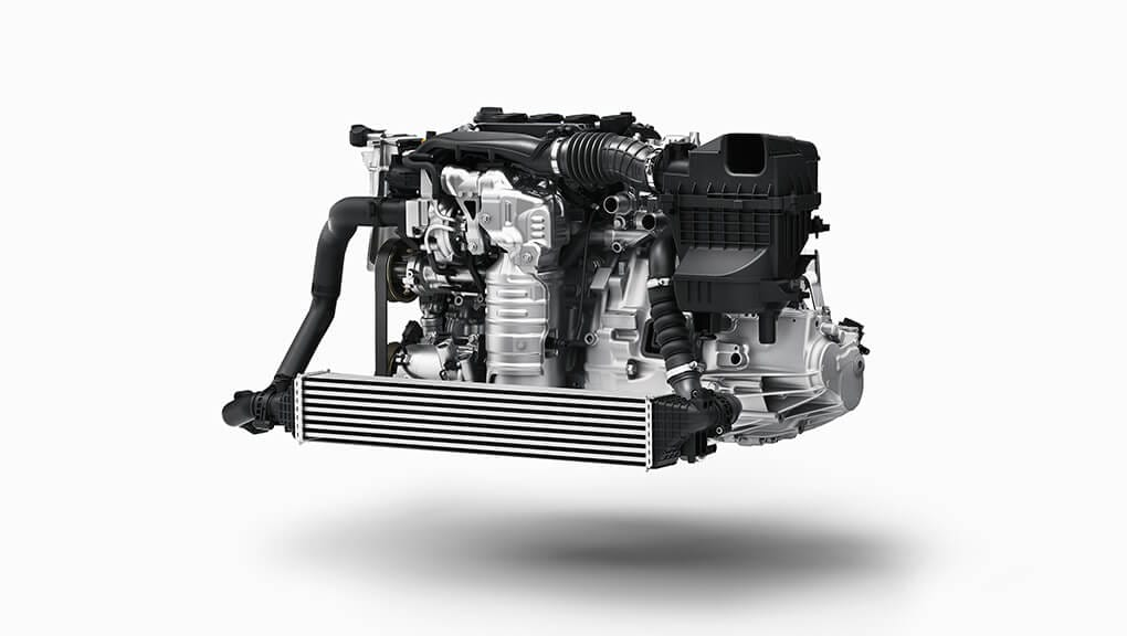 2018 Civic Si turbocharged engine.