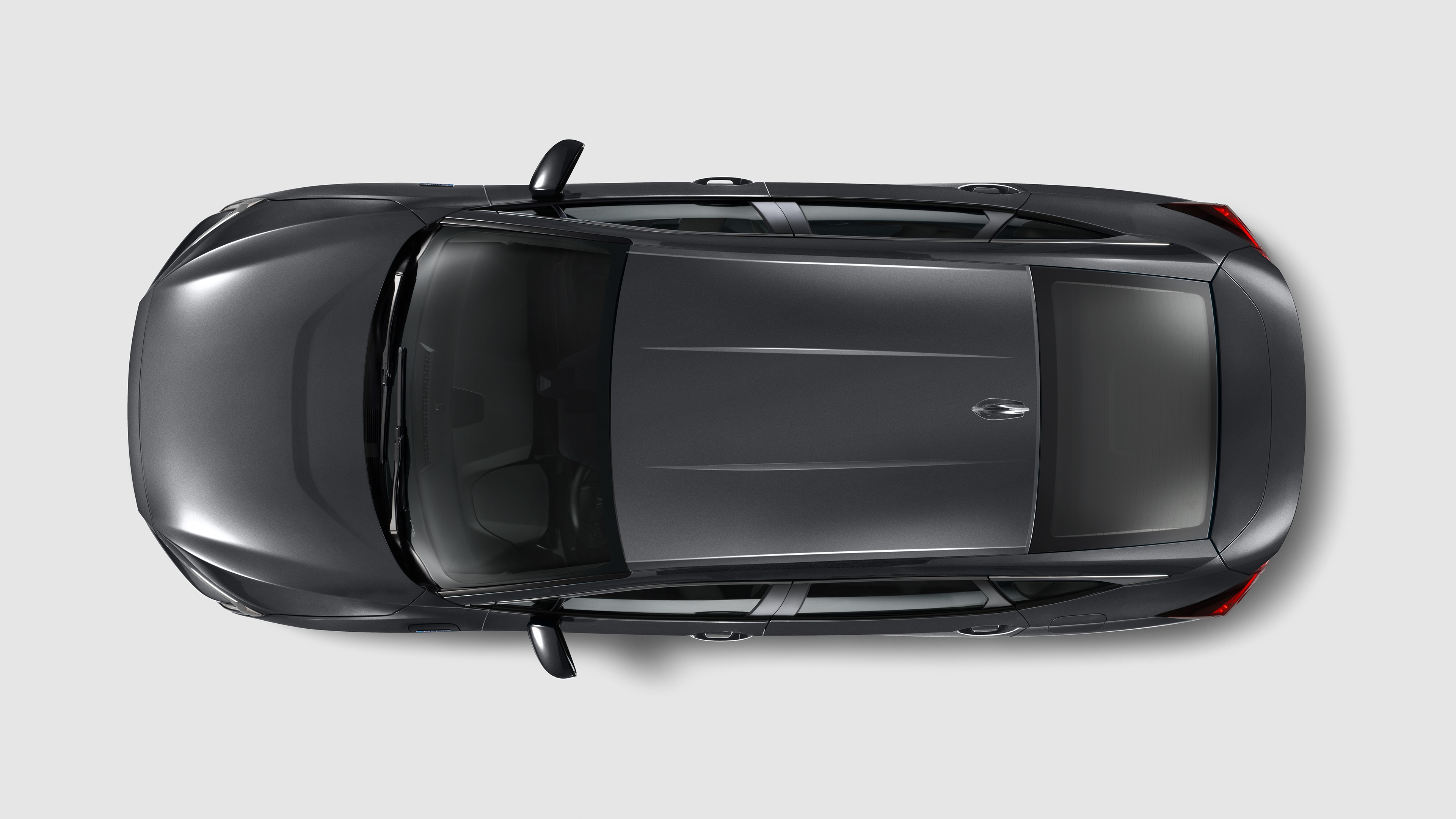 2021 Honda Clarity from above