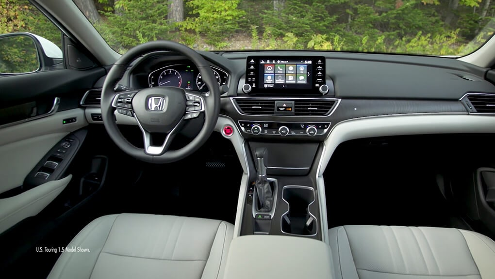 Interior | 2019 Accord Sedan | Honda Canada