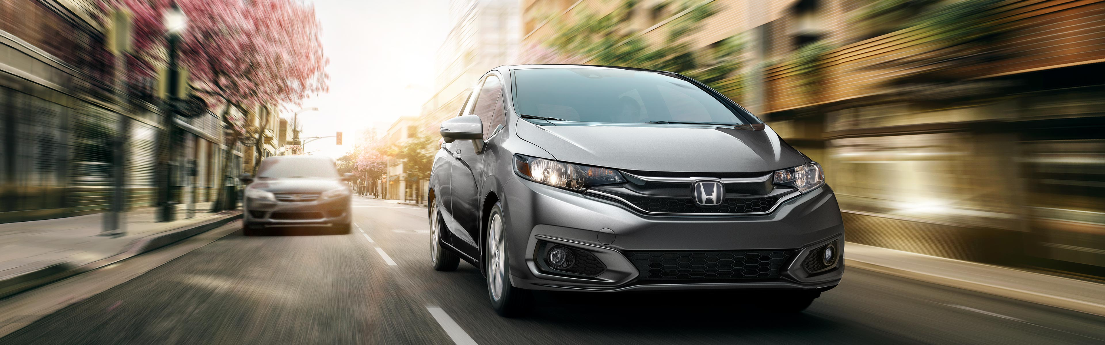 Image of grey 2018 Honda Fit
