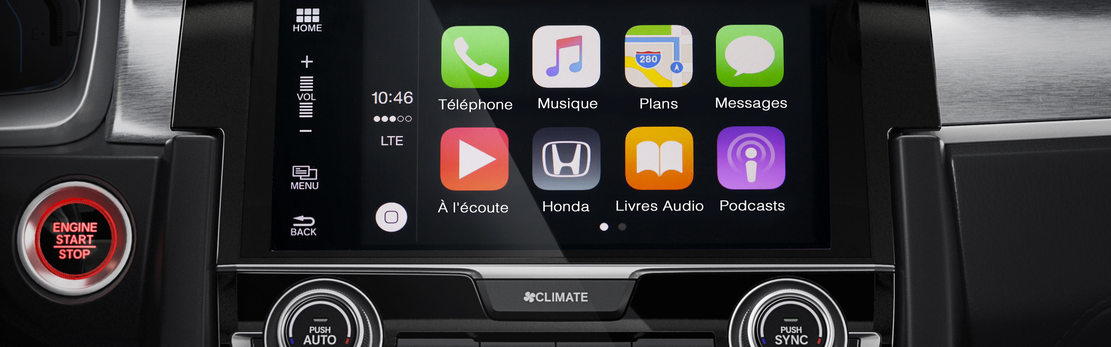 Image of 2016 Civic Coupe Apple CarPlay™