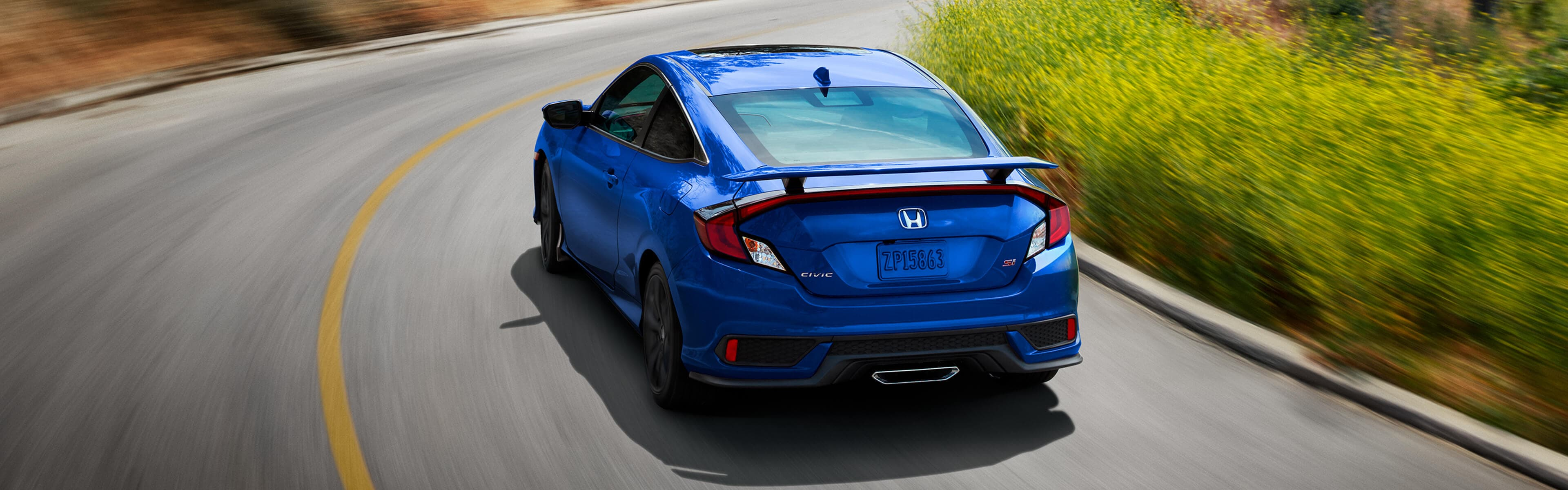 2018 Civic Coupe rear exterior
