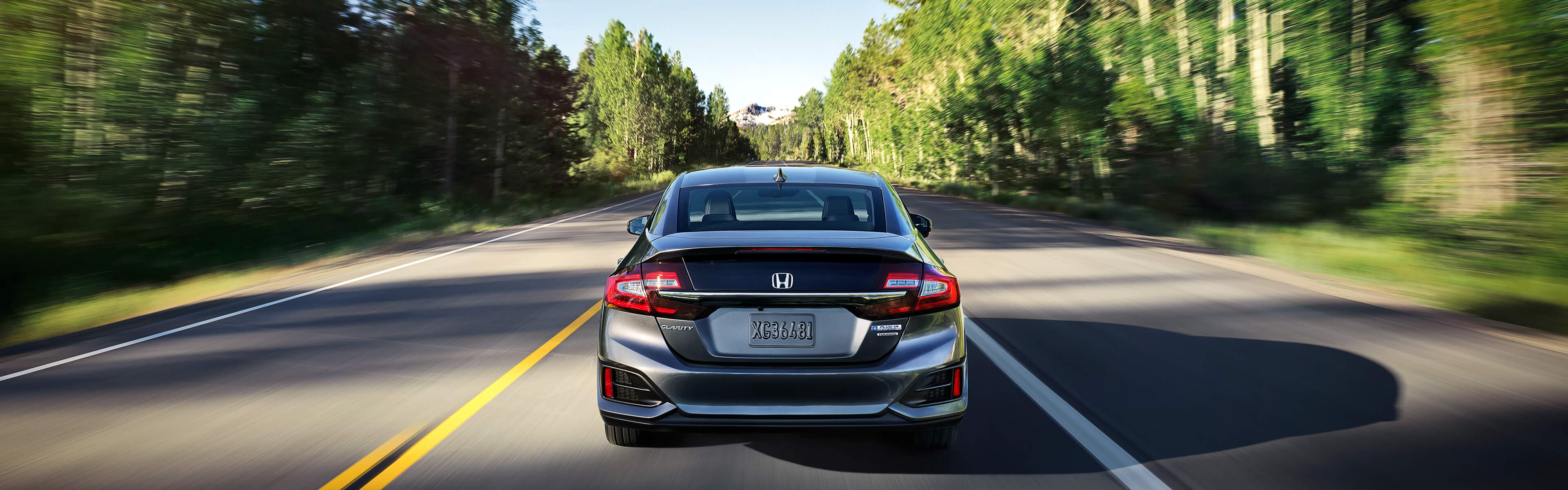 2021 Honda Clarity rear
