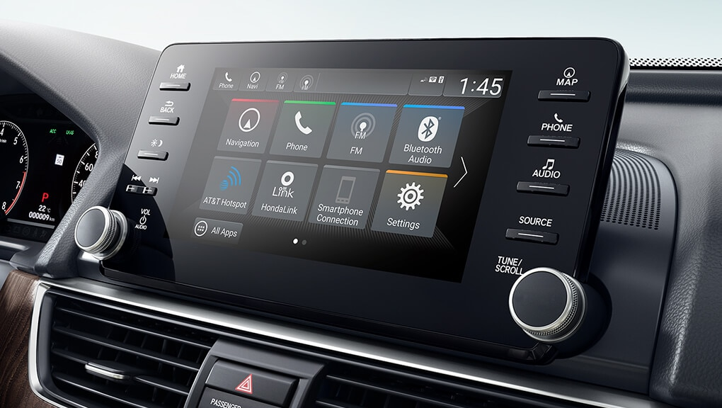 Image of 2018 Accord Hybrid Wi-Fi hotspot