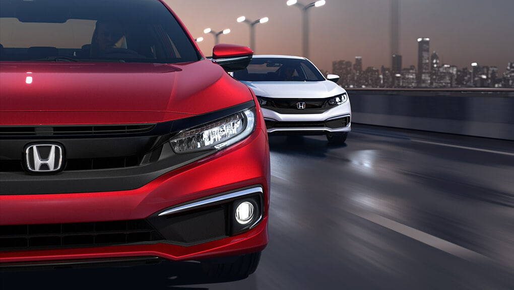 2018 Civic Coupe exterior headlights