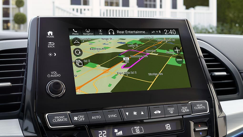 Image of 2019 Honda Odyssey Honda Satellite-Linked Navigation System™.