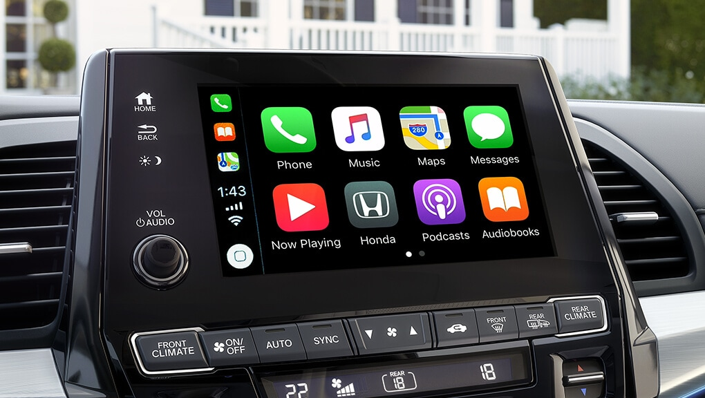 Image of 2019 Honda Odyssey Apple CarPlay™/Android Auto™.