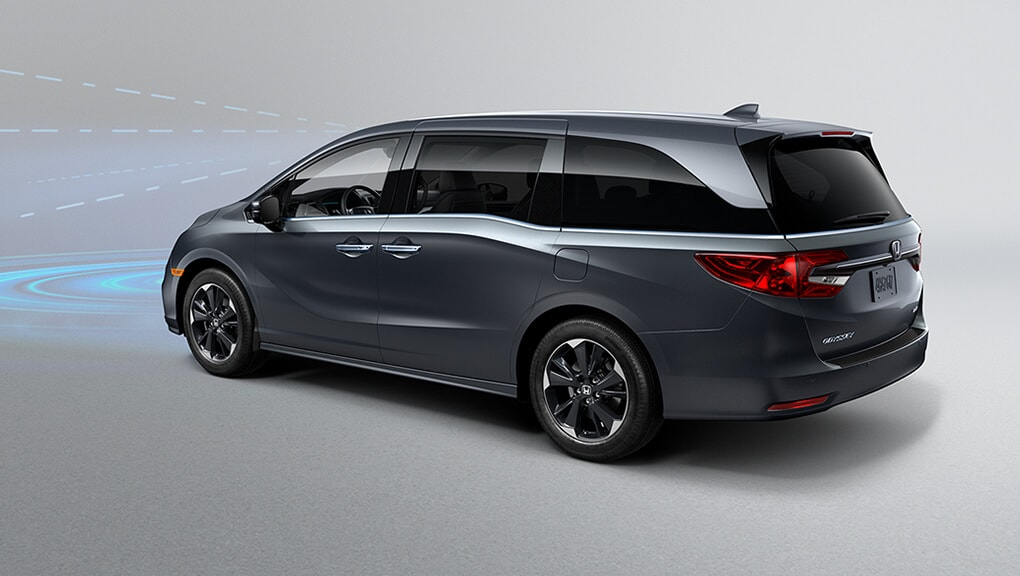 Video of 2021 Odyssey Collision Mitigation Braking System