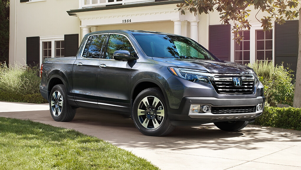 Image of 2019 Ridgeline parked