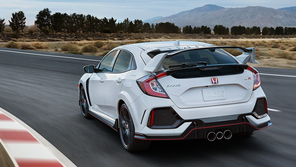 Image of 2018 Civic Type R rear wing spoiler