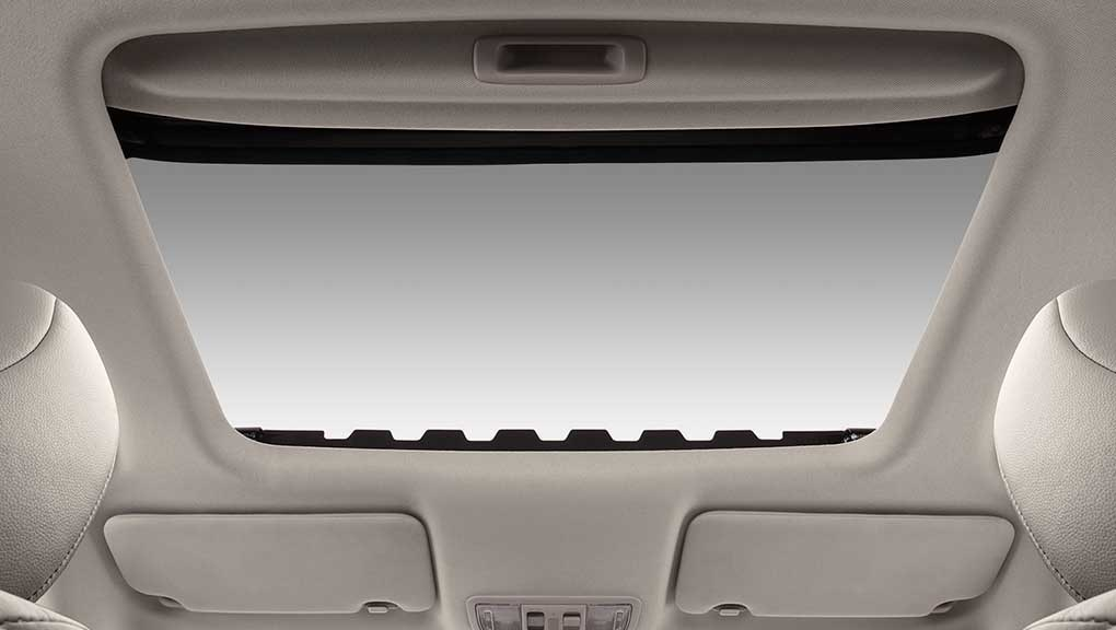 2016 Honda HR-V, one-touch power moonroof with tilt feature