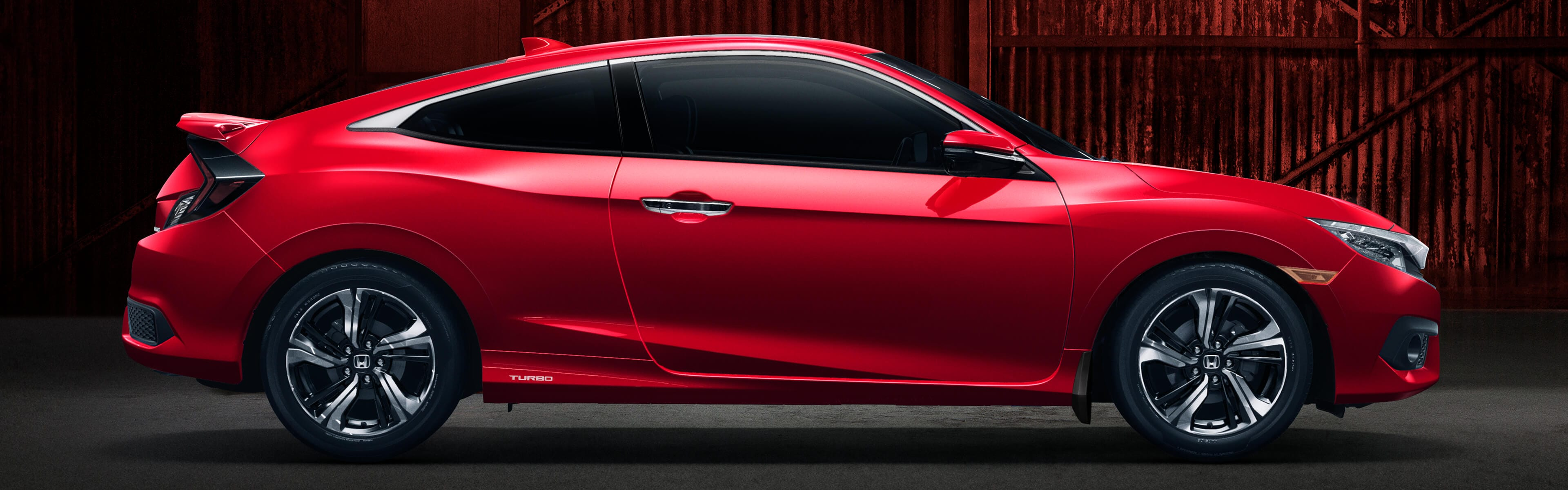 2018 Civic Coupe side profile