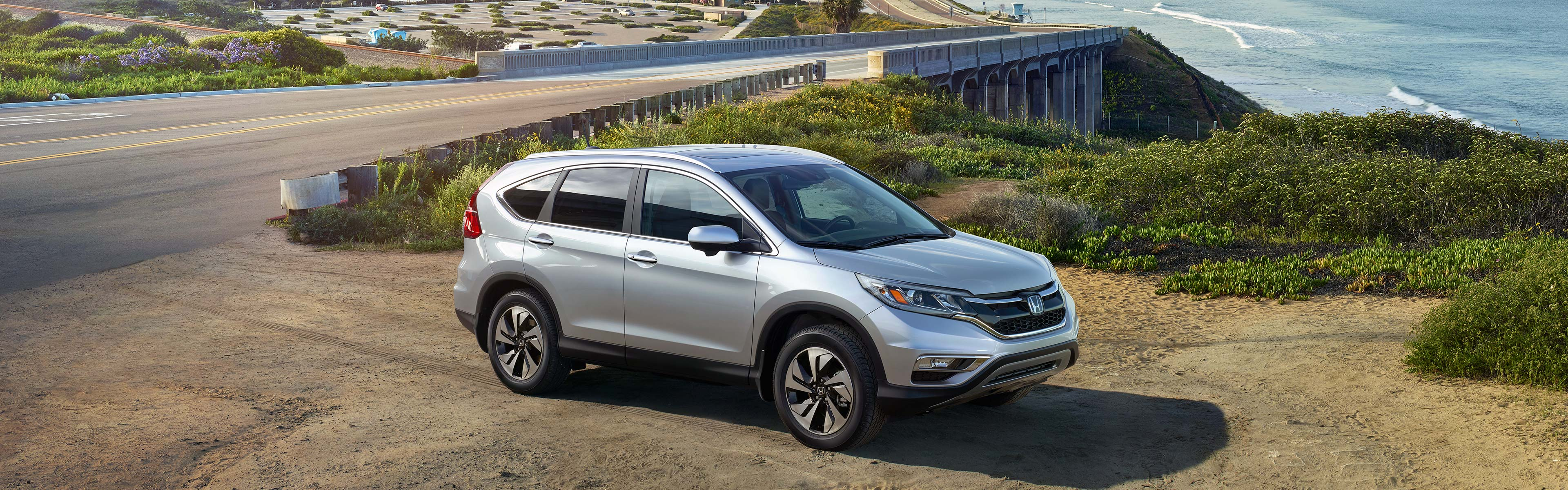 Image of a trip to the beach with the 2016 Honda CR-V