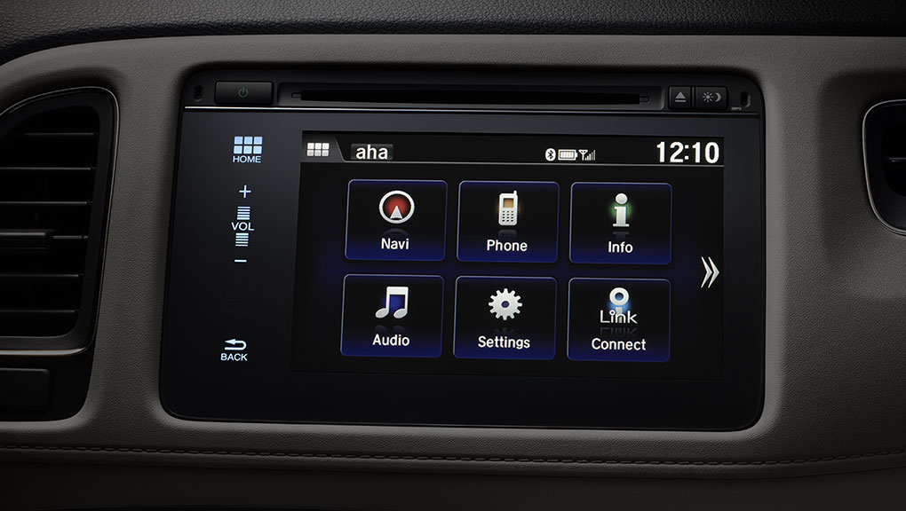 "7"" Display Audio with HondaLink™ Next Generation"