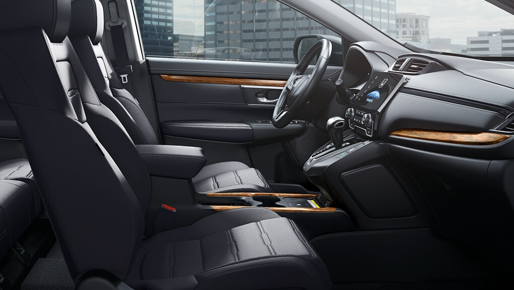 Image of 2018 CR-V 60/40 fold down rear seat