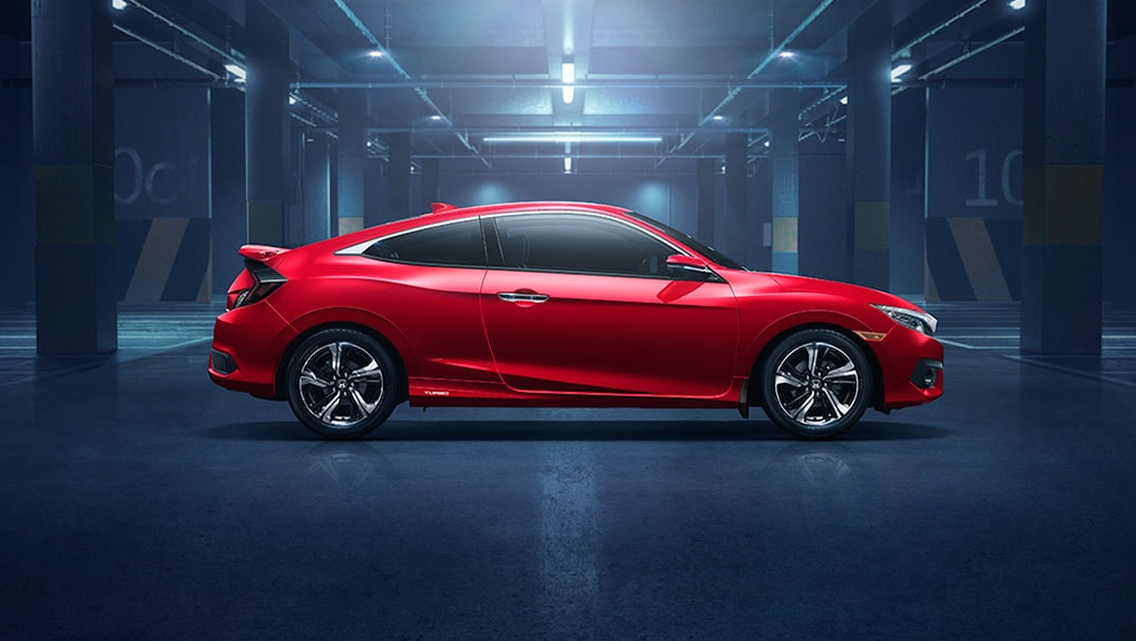 Image of 2018 Civic Coupe side profile