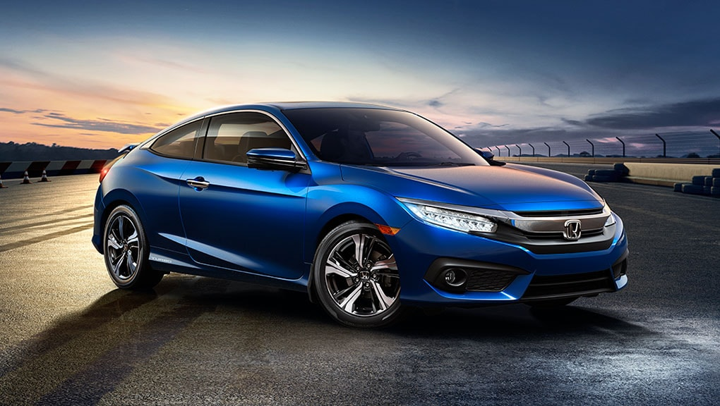 Image of 2018 Civic Coupe front end